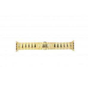 Apple (modèle de remplacement) bracelet de montre LS.AB.106 Métal Or (dorée) 42mm