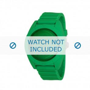 Adidas bracelet de montre ADH2788 Plastique Vert 24mm