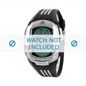 Adidas bracelet de montre ADP1634 Silicone Noir 17mm