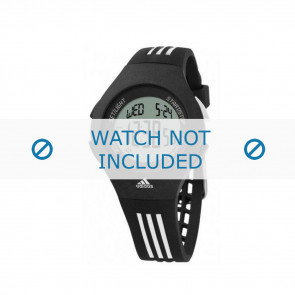 Adidas bracelet de montre ADP6016 En caoutchouc Noir 24mm