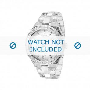 Adidas bracelet de montre ADH2506 Plastique Blanc 22mm