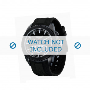 Police bracelet de montre P-12076J/JSB/02 Plastique Noir
