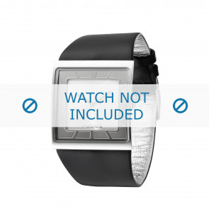 Police bracelet de montre PL-11916MS-04 Cuir Noir