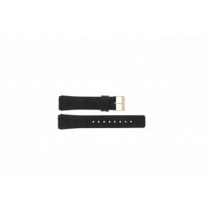 Skagen bracelet de montre 331XLRLD / 331XLRLDO Cuir Brun 19mm + coutures brunes