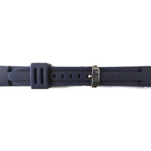 Bracelet de montre En caoutchouc 26mm Bleu PVK DS253