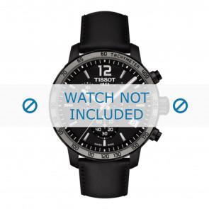 Tissot bracelet de montre T095.417.36.057.02 - T600035372 Cuir Noir 19mm