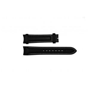 Breil bracelet de montre TW0678 Cuir Noir 22mm