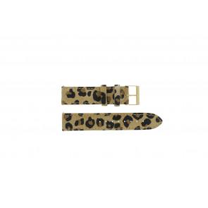 Guess bracelet de montre W16574L1 Cuir Léopard 20mm