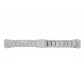 Casio bracelet de montre WV-58DE-1AVEF / 10243173 Métal Argent 23mm