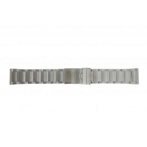 Bracelet de montre Y120-K63 Métal Argent 24mm