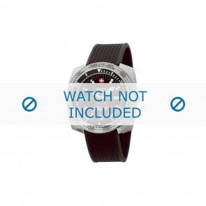 Zodiac bracelet de montre ZO3701 Caoutchouc Noir