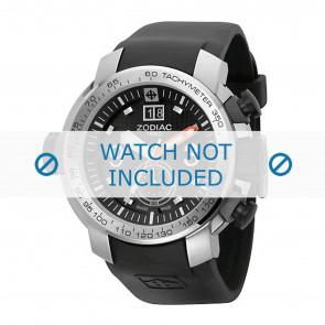 Zodiac bracelet de montre ZO8505 Caoutchouc Noir 28mm