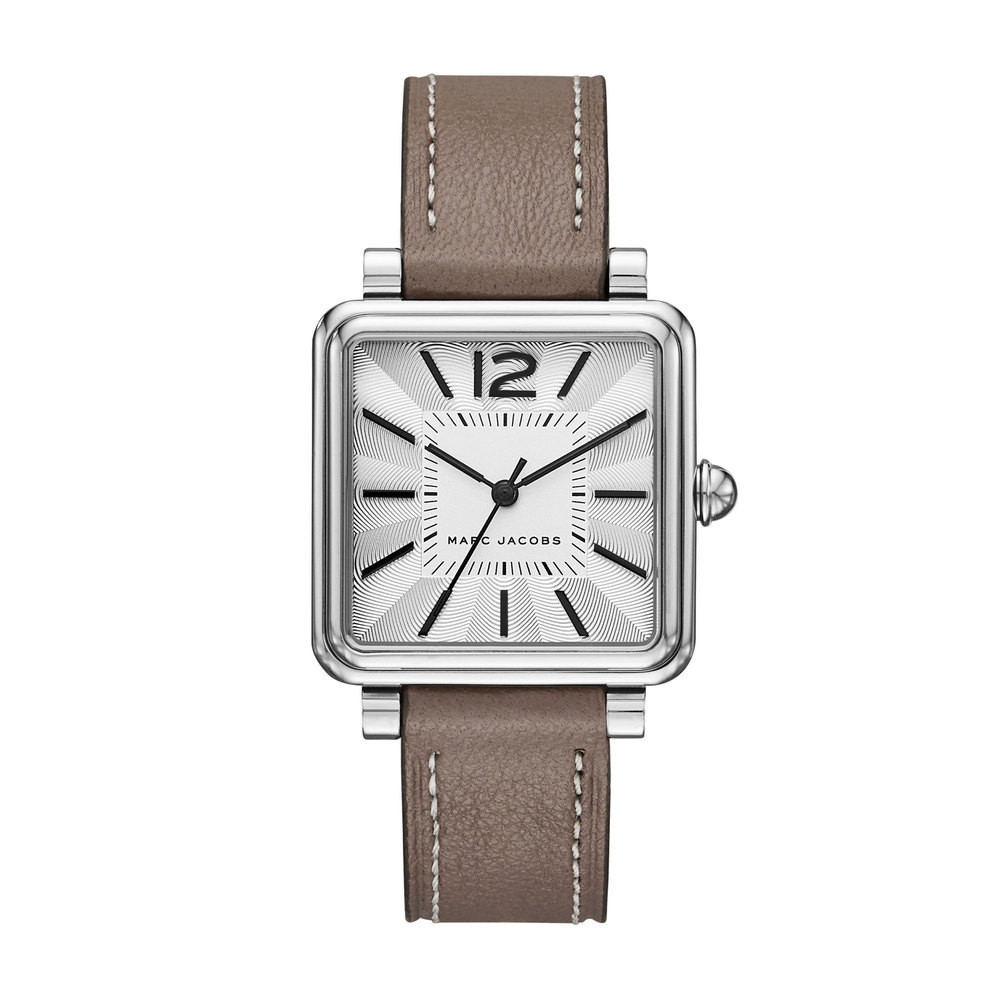 f7318816f3 Bracelet de montre Marc by Marc Jacobs MJ1518 Cuir Taupe 16mm