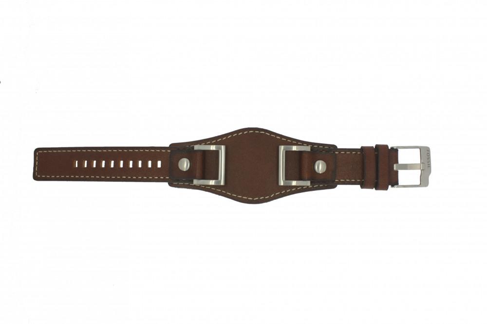 Bracelet cuir pour montre fossil femme