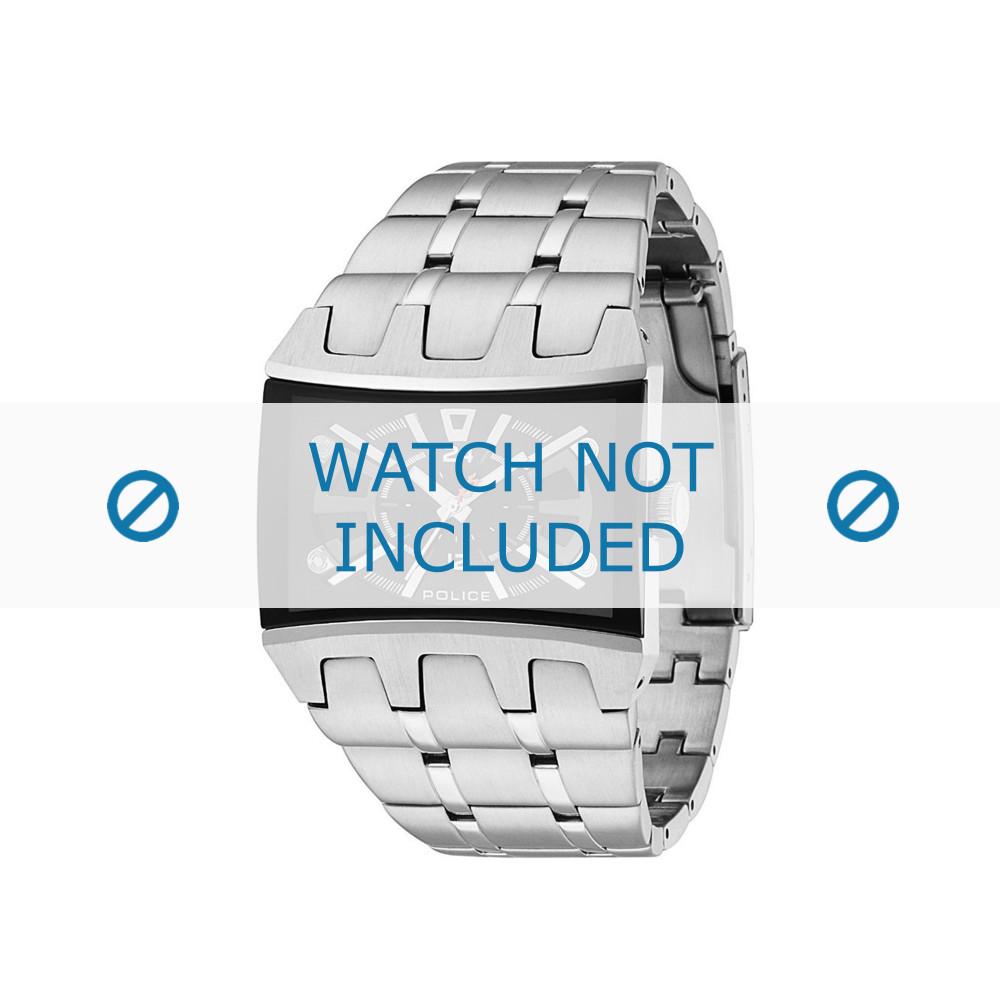 design intemporel 18273 fd94f Bracelet de montre Police 13420JS/02MA Acier Acier 30mm
