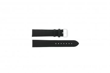 Bracelet de montre Universel 054.01.18 Cuir Noir 18mm