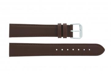 Bracelet de montre Universel 054.02 Cuir Brun 20mm