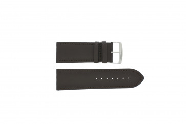Bracelet de montre 306.02 Cuir Brun 24mm + coutures défaut