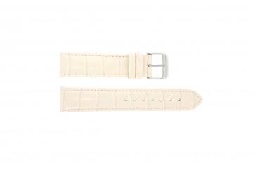 Bracelet de montre Universel 285.15 Cuir Rose 20mm