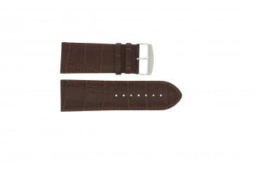 Bracelet de montre Universel 305.02 Cuir Brun 24mm