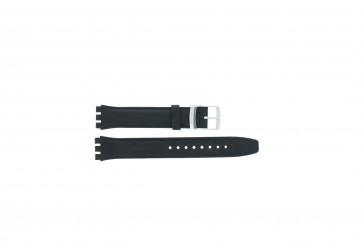Bracelet de montre convient pour Swatch marinebleu 17mm
