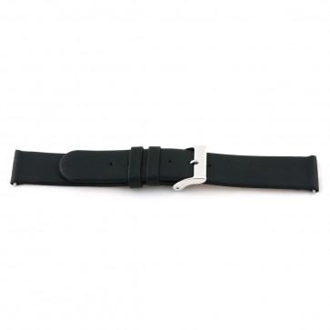 Bracelet de montre 800.R01 Cuir Noir 12mm + coutures défaut