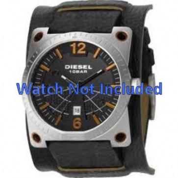 Bracelet de montre DZ1212 Cuir Noir 28mm