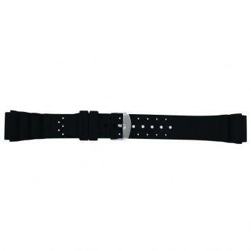 Bracelet de montre Universel SL100 Silicone Noir 20mm
