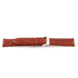 Bracelet de montre Universel G335 Cuir Brun 20mm