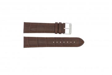 Bracelet de montre Universel 305R.02 Cuir Brun 18mm