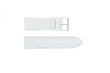 Bracelet de montre Universel 306.09 Cuir Blanc 26mm