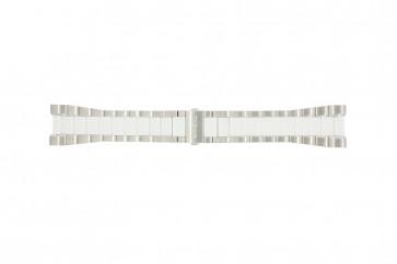 Breil bracelet de montre BW0224 Métal Blanc 27mm