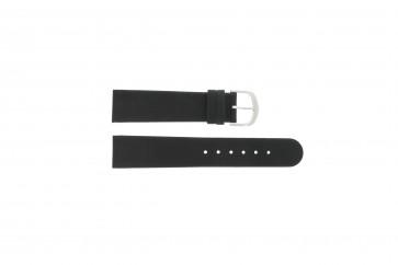 Bracelet de montre IQ13Q732 / IQ16Q672 Cuir Noir 20mm