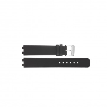 Danish Design bracelet de montre IV12Q523 / IV13Q523 Cuir Noir 12mm