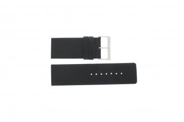Bracelet de montre Davis BB0330 Cuir Noir 30mm