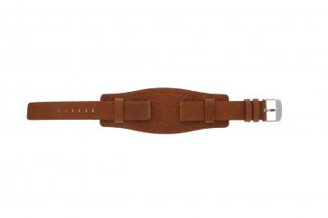 Bracelet de montre WoW B0222 Cuir Cognac 18mm