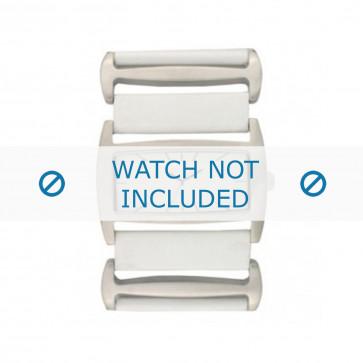 Davis bracelet de montre BB0755 Cuir Blanc 36mm