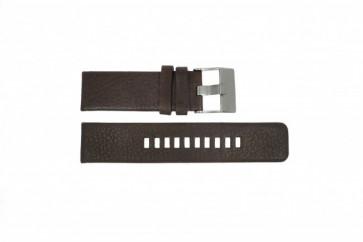 Bracelet de montre Diesel DZ1467 Cuir Brun 24mm