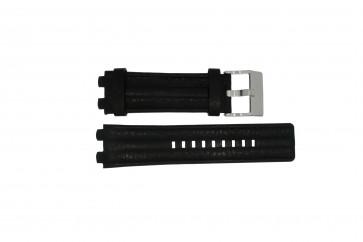 Bracelet de montre Diesel DZ4118 / DZ4119 Cuir Noir 20mm