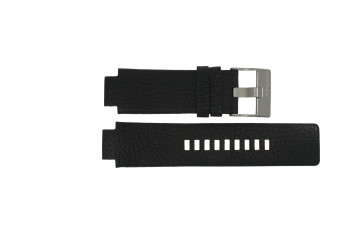 Diesel bracelet de montre DZ-4146 Cuir Noir 16mm