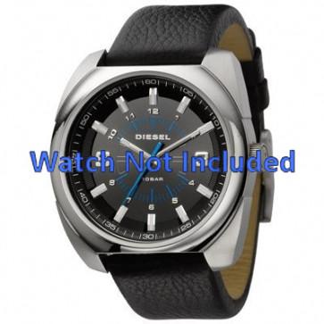 Diesel bracelet de montre DZ1247 Cuir Noir 26mm