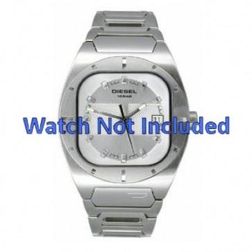 Diesel bracelet de montre DZ4116 Métal Blanc 19mm