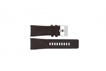 Diesel bracelet de montre DZ1317 Cuir Brun 29mm