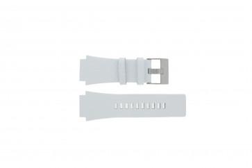 Diesel bracelet de montre DZ1449 Cuir Blanc 25mm