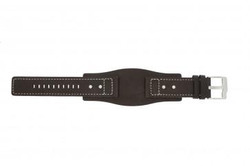 Bracelet de montre Fossil JR9990 Cuir Brun 24mm