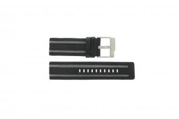 Fossil bracelet de montre JR-9934 Cuir Noir 26mm