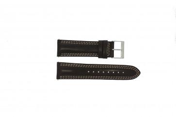 Guess bracelet de montre W95046G2 Cuir Brun 24mm