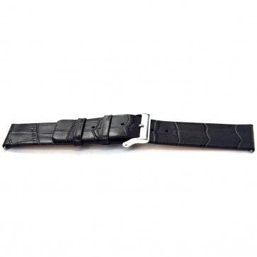 Bracelet de montre Bison 24mm gris J-53
