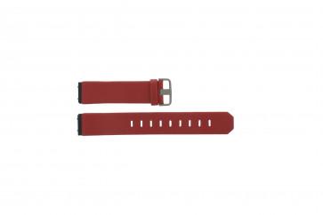 Jacob Jensen bracelet de montre 600 serie  Cuir Rouge 17mm