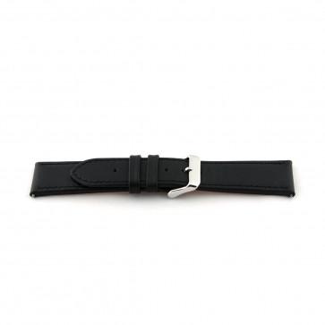 Bracelet de montre Universel H010 XL Cuir Noir 22mm